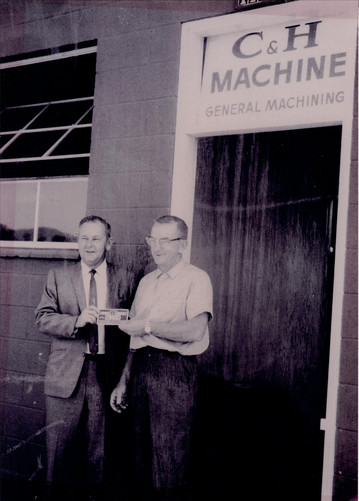 C & H Machine founder, Carl Warmelin