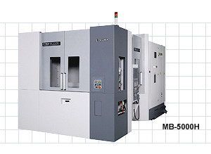 4 Axis milling – Okuma MB5000HA Horizontal Mill